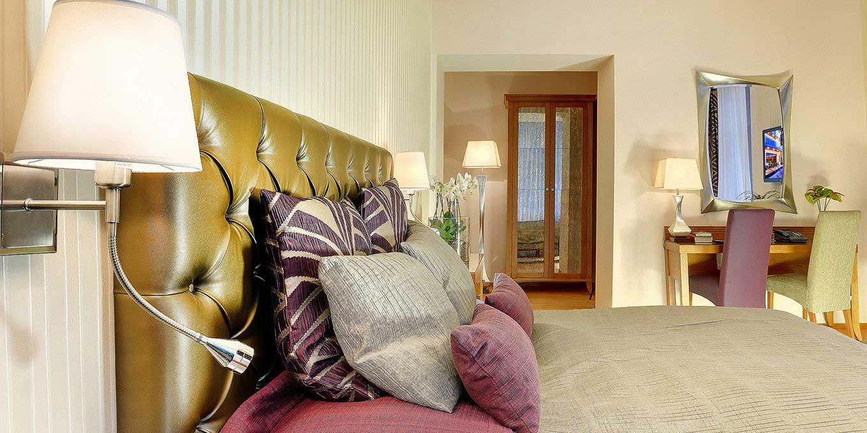 Modern room - Grandhotel Praha