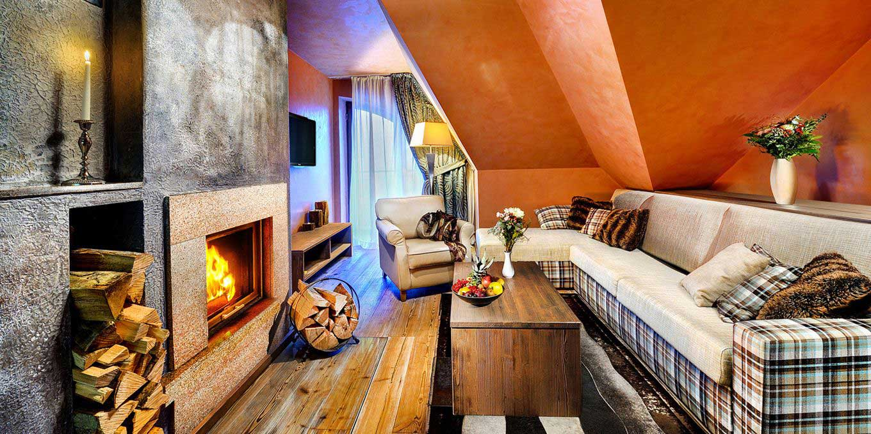 Modern suite - Grandhotel Praha