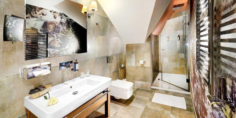 Suite bathroom - Grandhotel Praha