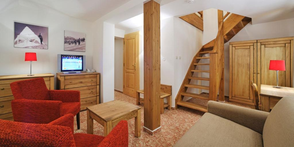 Suite - Отель Микулaшcкa Xaтa / Hotel Mikulasska Chata