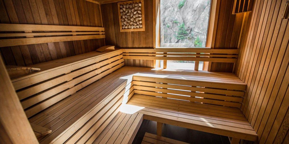 Sauna - Отель Остредок / Hotel Ostredok