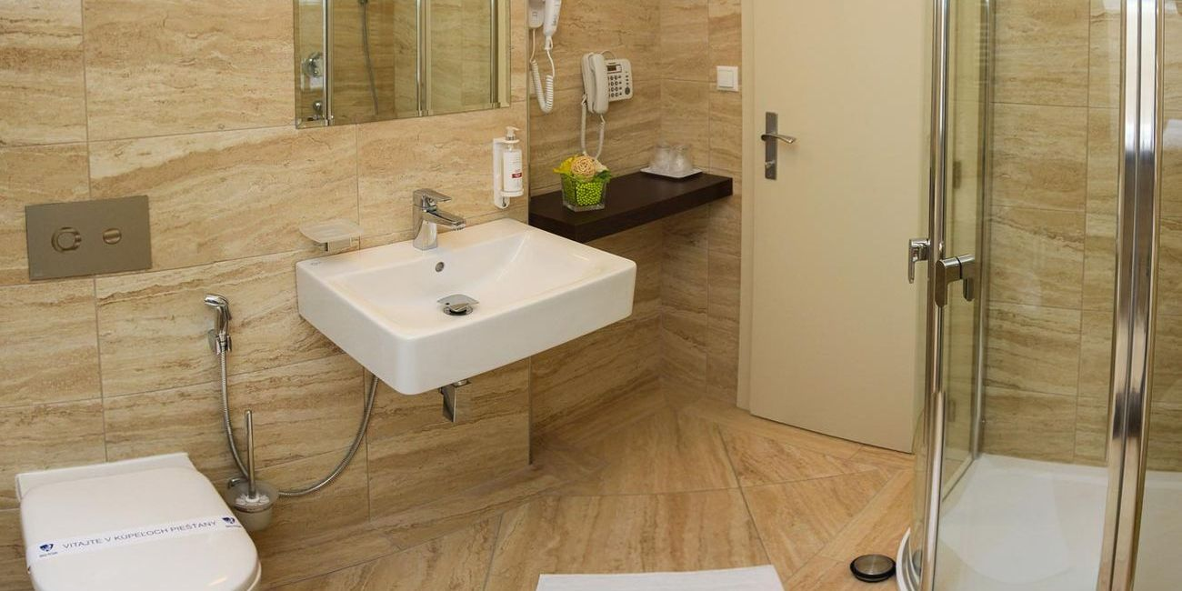Comfort bathroom - Spa Hotel Pro Patria
