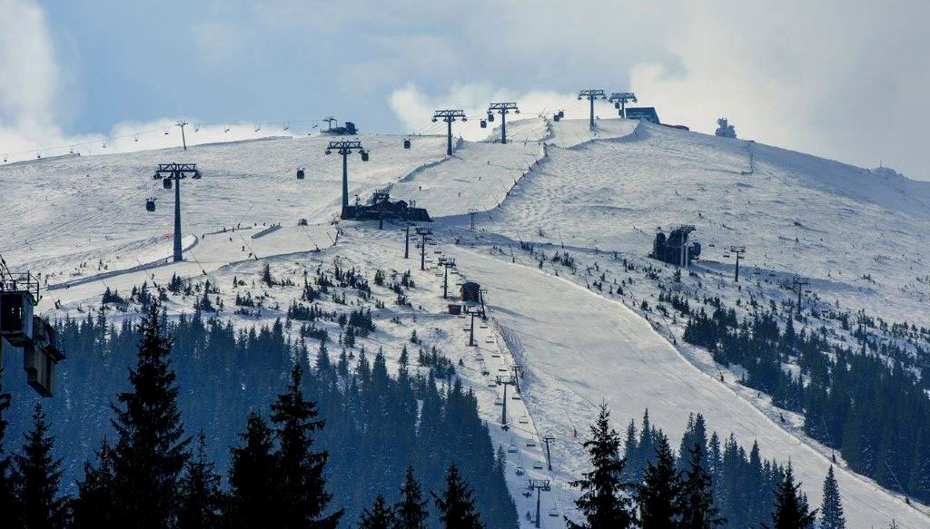 Ski slope - Hotel Sorea SNP