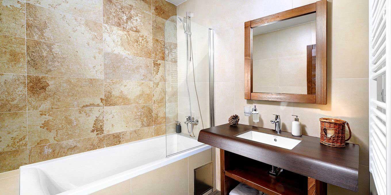Srdiecko apartment bathroom - Hotel Srdiecko