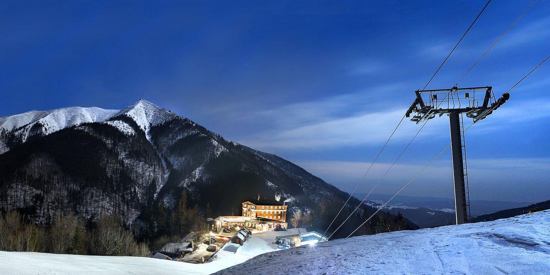 Ski slope - Hotel Srdiecko