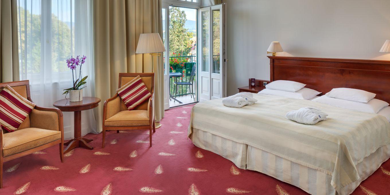 Deluxe room - Thermia Palace Ensana Health Spa Hotel