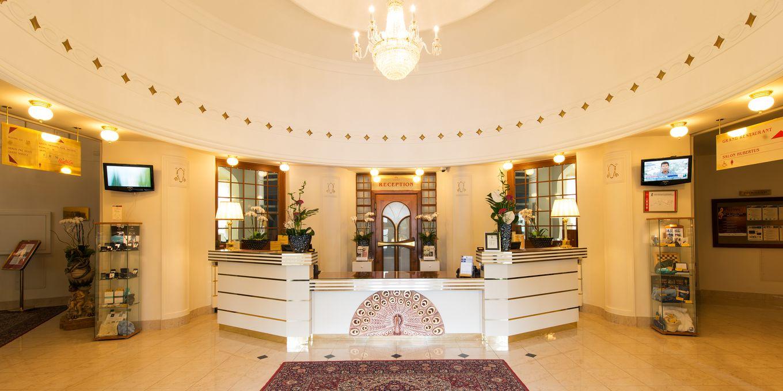 Reception - Thermia Palace Ensana Health Spa Hotel