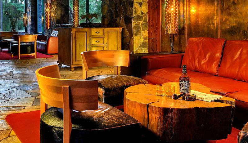 Lobby Lounge - Отель Tры Колодчикa / Hotel Tri studnicky