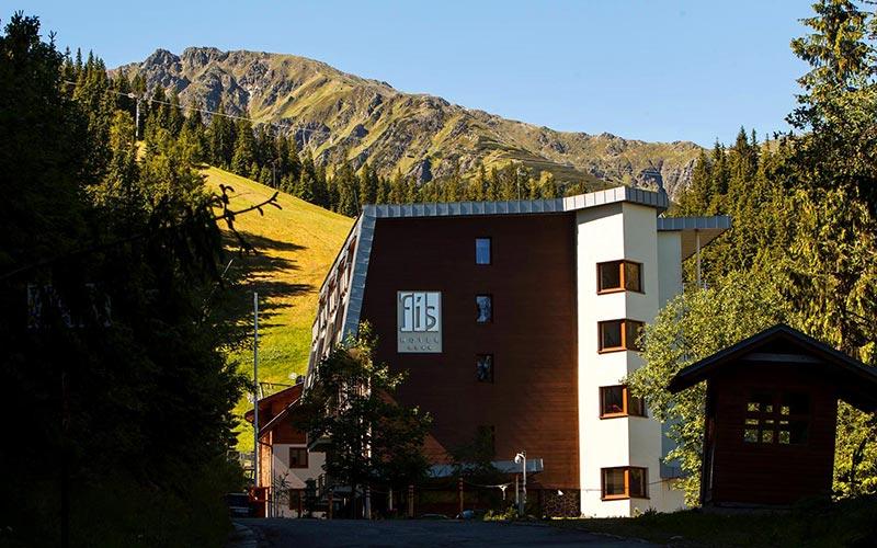 Отель Фиc / Hotel Fis, Jasna