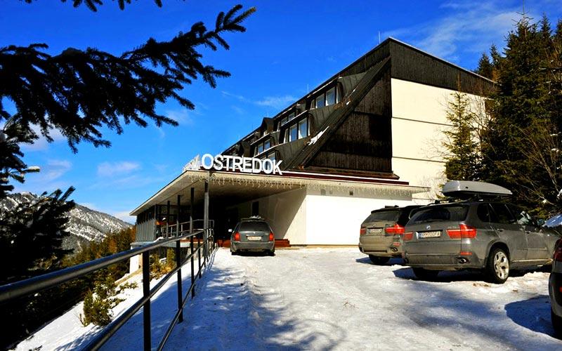 Отель Остредок / Hotel Ostredok, Jasna
