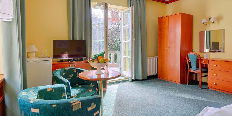 Comfort double room - Vila Trajan Ensana Health Spa Hotel