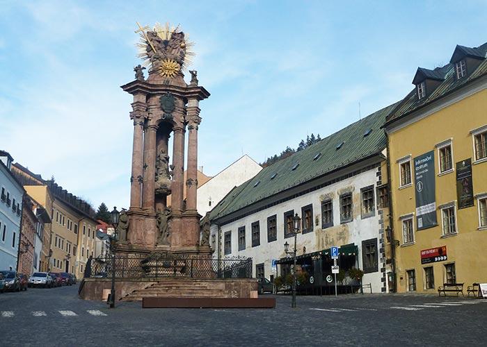 Banska Stiavnica centre