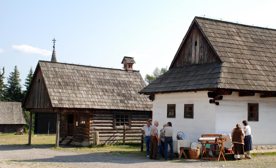Museum of Liptov village in Pribilina
