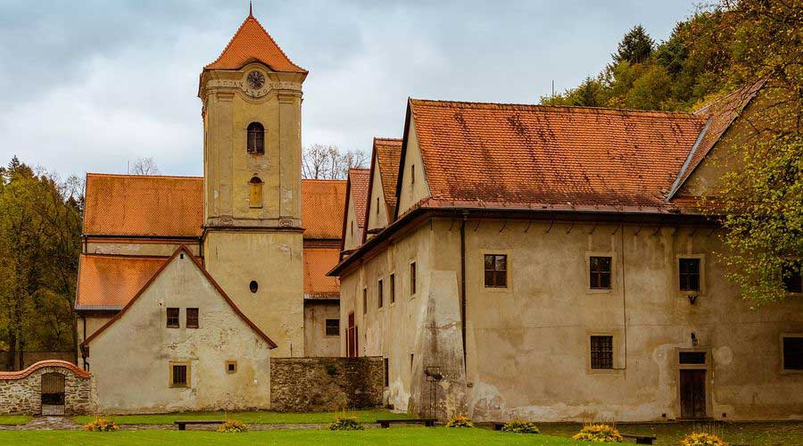 Gothic Route - Cerveny Klastor monastery