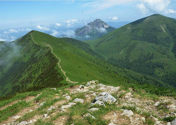 Self-guided walking holidays in Mala Fatra Mountains