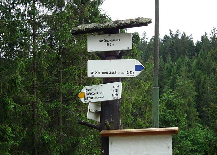 Self-guided walking holidays in Slovak Raj Mountains