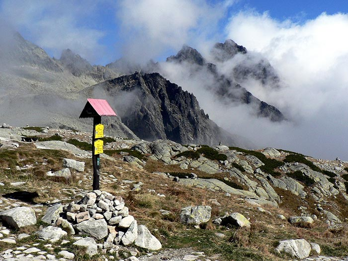 Self-guided walking holidays in Vysoke Tatry Mountains