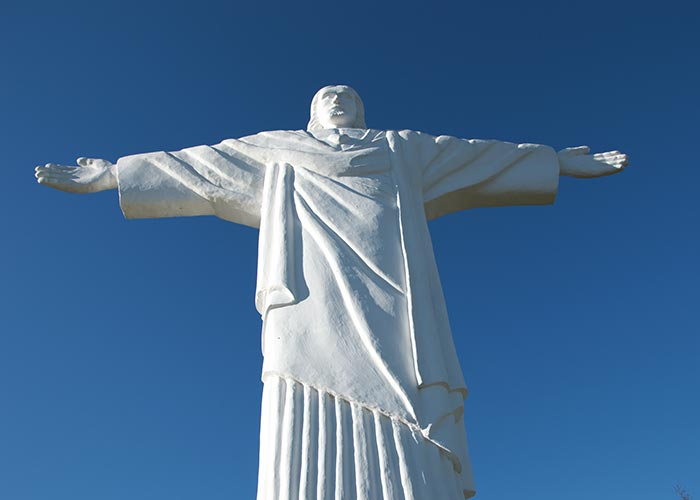 Statue of Jesus Klin Slovakia