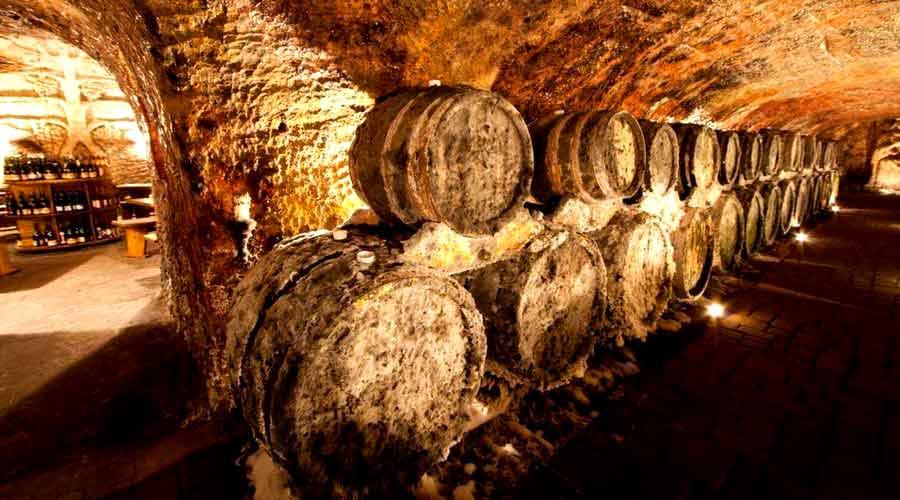 Tokaj Wine Route - Wine Barrels