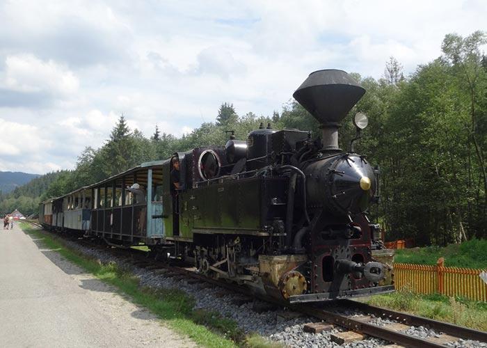Cierny Balog train tours Slovakia