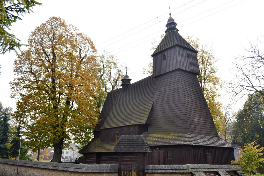 Church in Hervartov