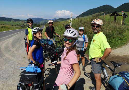 Family Bike Trip Across Slovakia