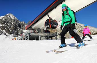 Skiing in High Tatras