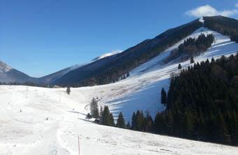 Vratna ski resort