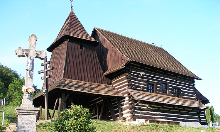 Brezany wooden church