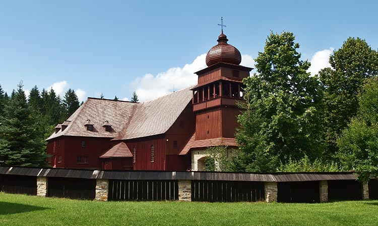 Wooden church in Svaty Kriz