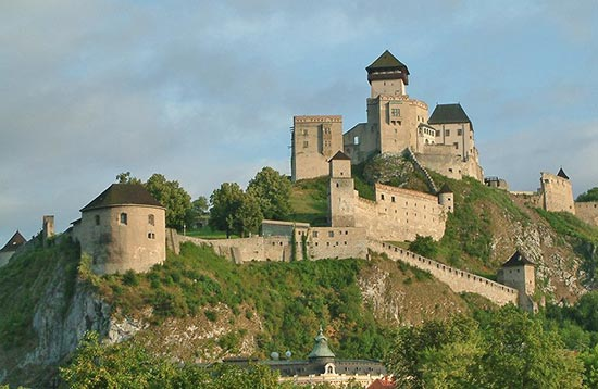 The Most Beautiful Castles of Western Slovakia