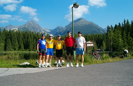 Bicycle Holiday around the High Tatras National Park from Krakow to Zakopane