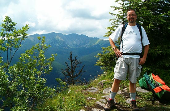 National park of Low Tatras mountains