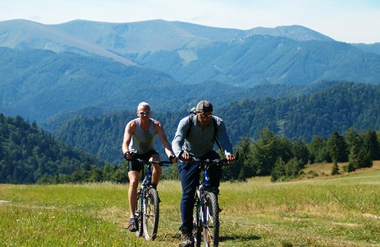 Mountain Cycling from High Tatras to Banska Stiavnica