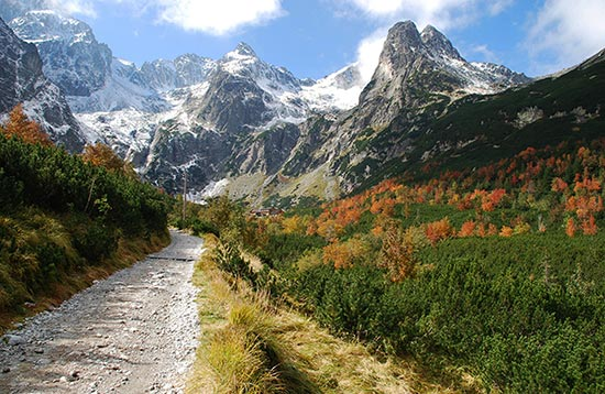 High Tatras Walking Holiday for All Seasons