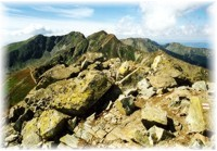 Ridge in West Tatras