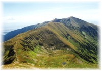 Low Tatras - Chopok peak