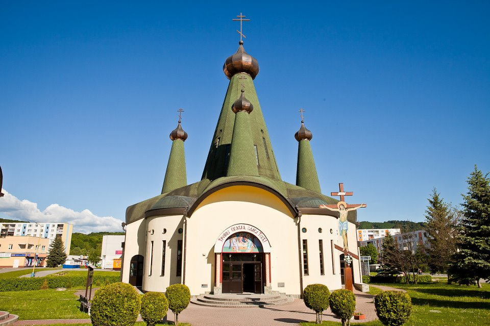 Svidnik - the church