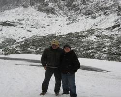 Tom in the High Tatras, Slovakia
